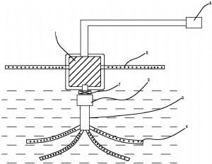 一种利用鱼塘底层水体的加压细孔喷水增氧装置