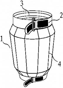 一种便携式膝、肘关节中药熏洗器